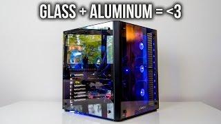 Lian Li PC-08 Case Review | Beautiful Aluminum & Glass craftsmanship