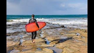 Пляжи и Сёрфинг зимой в Австралии - Lorne, Great Ocean Road, Australia