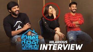 Chikati Gadilo Chithakotudu Movie Team Hilarious Interview   Manastars