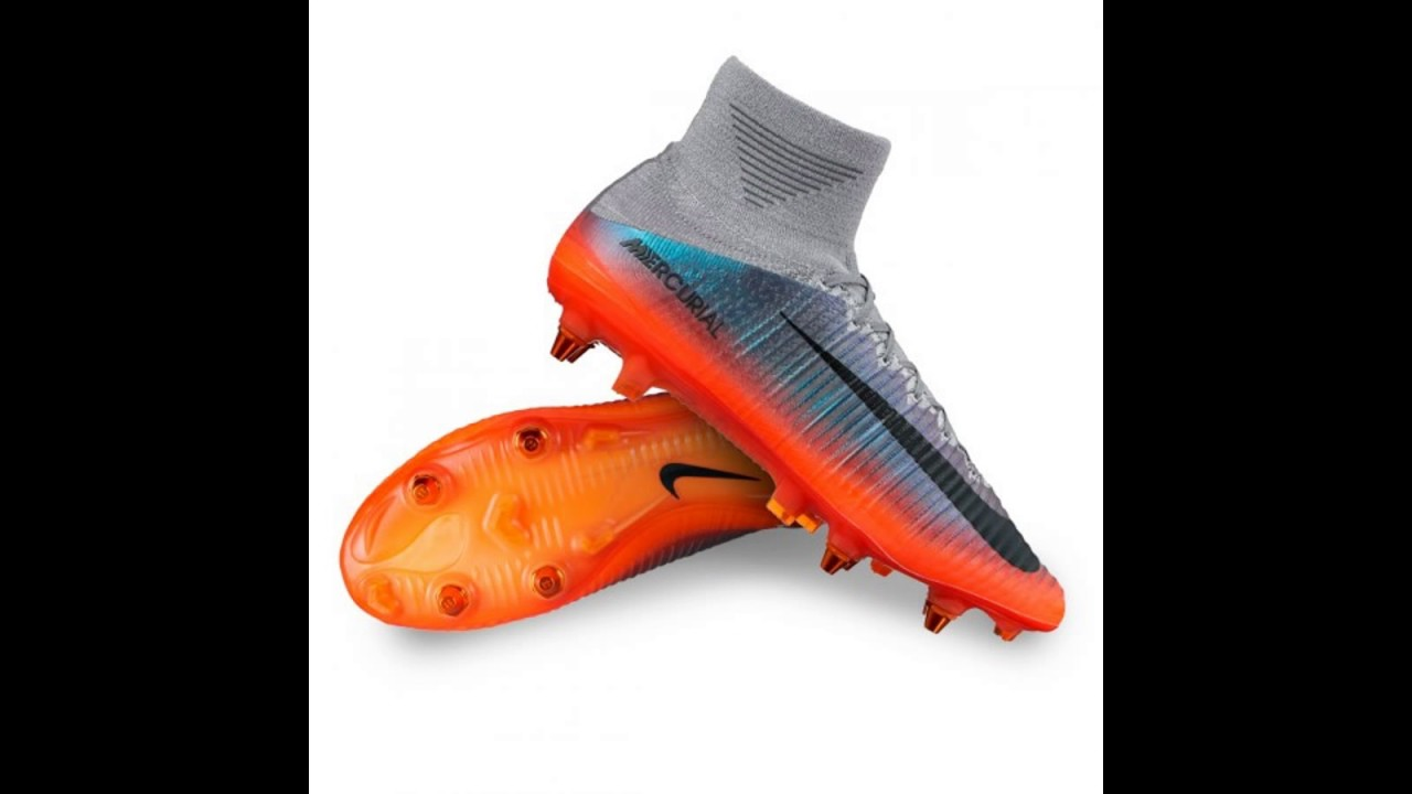 13add1803f121 Las nuevas zapatillas de Cristiano Ronaldo (CR7) 2017 - YouTube