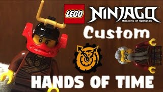Lego Ninjago Custom Samurai X Dareth Minifigure from HANDS of Time Season 7 Review and How to Make