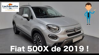 📣MISE EN MAIN 📣Fiat  MY19 500X 1.0 FireFly Turbo T3 120 ch Cross