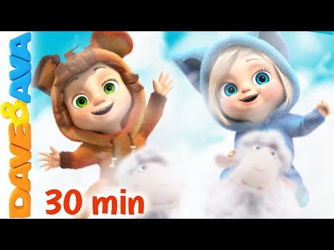 🔔Top 10 Nursery Rhymes and Kids Songs | Baby Songs by Dave and Ava 🔔