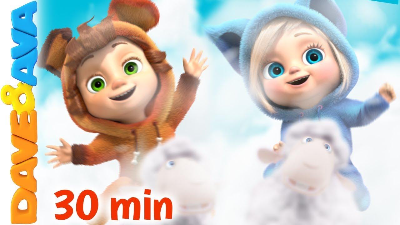 Top 10 Nursery Rhymes and Kids Songs | Baby Songs by Dave ...
