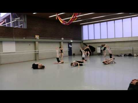 Openday in the Royal Conservatoire of the Hague. 2015. Dance Department.