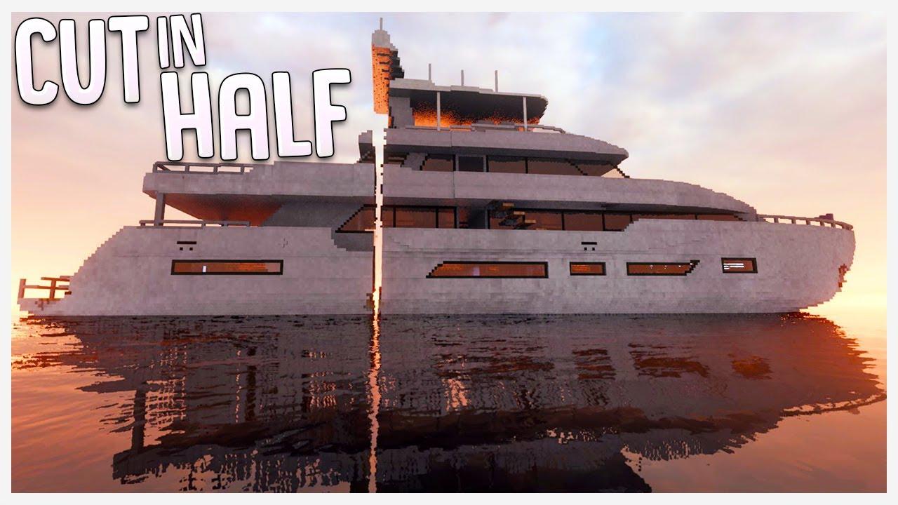 Download What Happens When You Cut A Mega Yacht In Half? - Teardown Funny Stunts