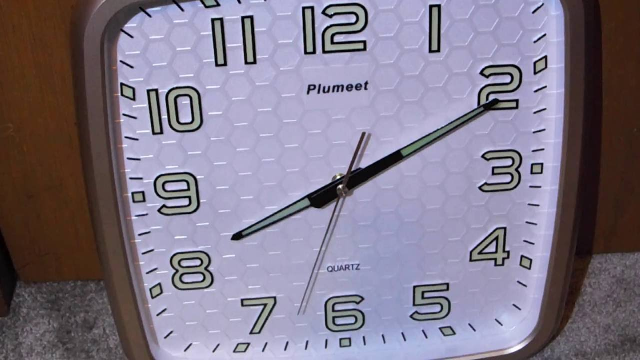 Elemall plumeet large number battery operated 14 inch wall clock elemall plumeet large number battery operated 14 inch wall clock amipublicfo Choice Image