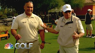 Feherty Shorts: Butch Harmon hosts Troops First Foundation | Feherty | Golf Channel