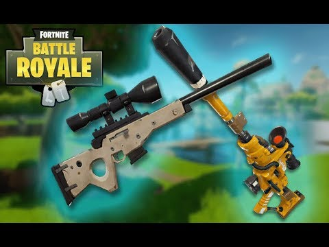 Nerf The Sniper Fortnite Battle Royal Youtube