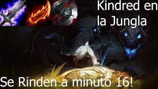 Kindred JG 10.15 SE RINDEN A MINUTO 16! [League Of Legends]