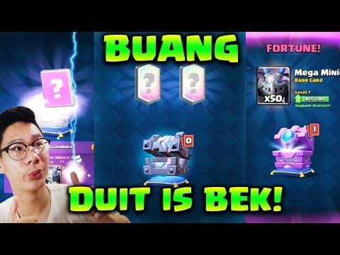 BUANG DUIT DEMI CHEST BARU, GAPAPA DAH! - Clash Royale Indonesia