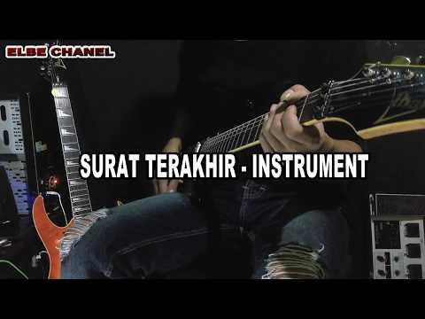SURAT TERAKHIR - instrument gitar - by beb gitar cover