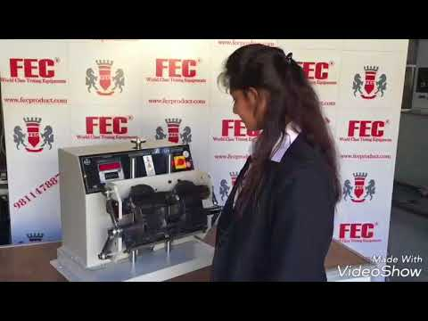 Bennewert Sole Flex Tester (FEC Product Testing Equipment)