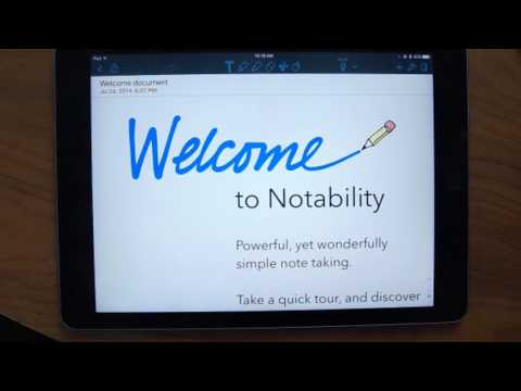Annotating PDF's with Notability Webinar
