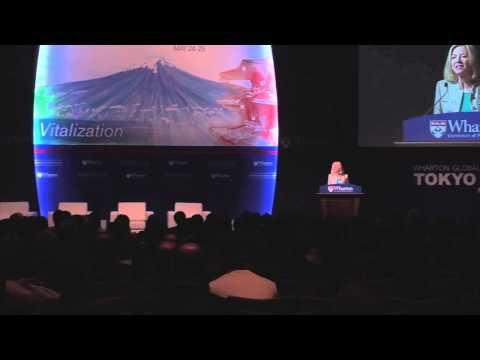 Wharton Global Forum Tokyo 2013 - Amy Gutmann