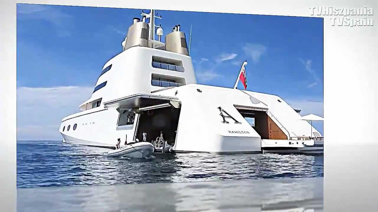 Melnichenkos Superyacht A By Starck YouTube