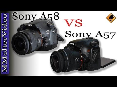 Sony A58 VS