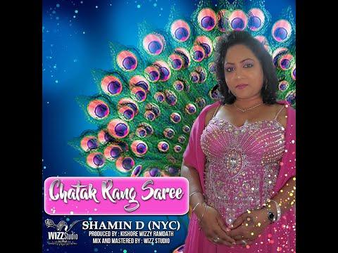 Chatak Rang Saree by Shamin D