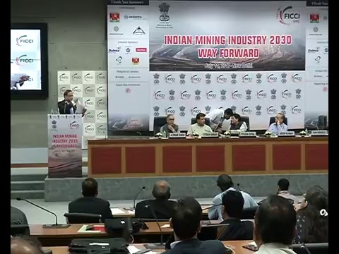 Speaking at Indian Mining Industry 2030 - Way Forward, New D