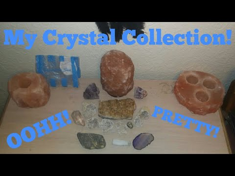My Crystal Collection! (Salt Lamps and Rocks too!)