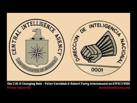 CIA: A Changing Role - Robert Parry and Peter Kornbluh on KPFA (1998)