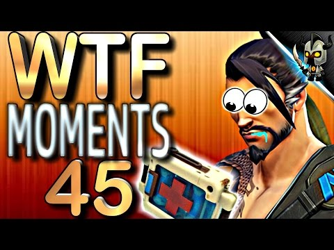 Overwatch WTF Moments ►#45 Hanzo NEEDS Healing