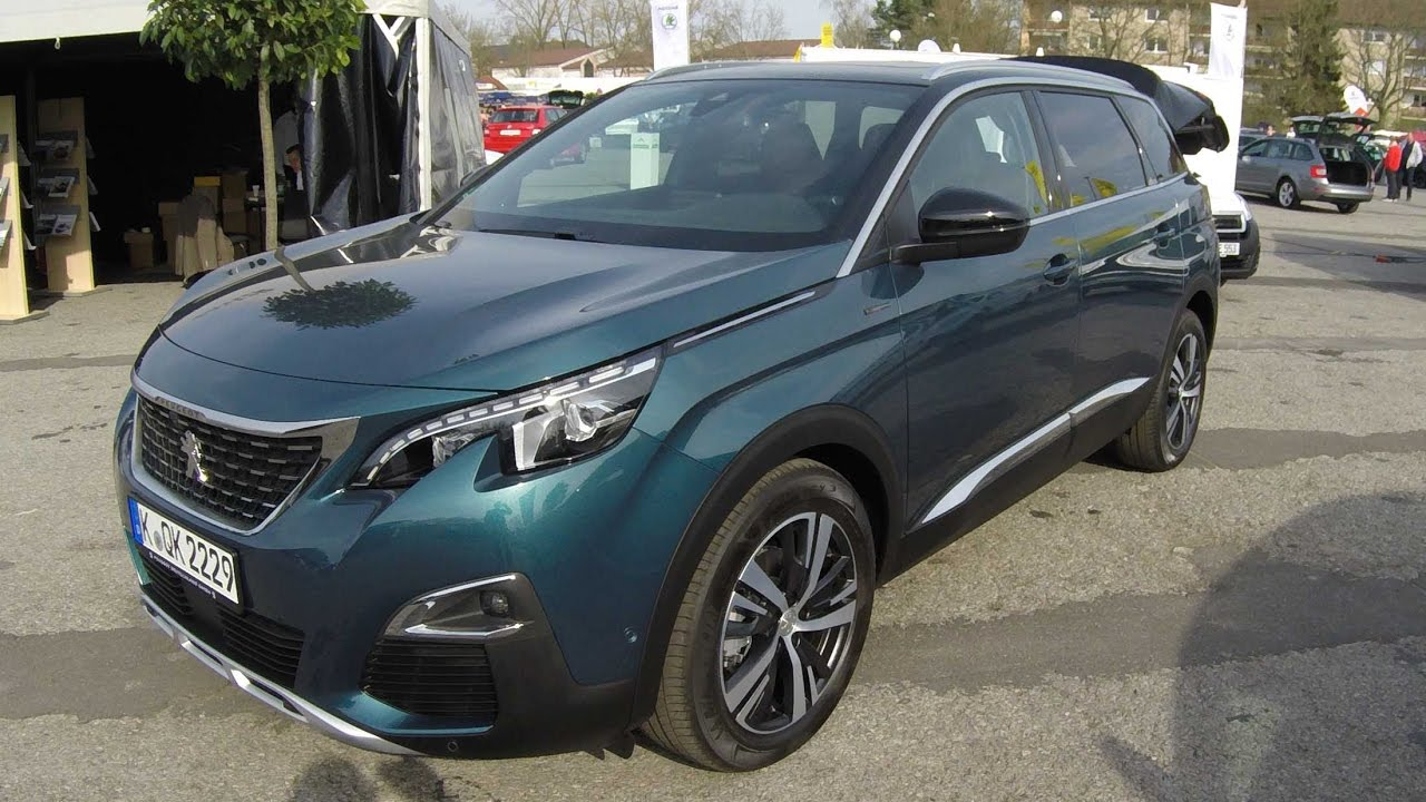 Peugeot 5008 gt line new model 2017 smaragd green for Interior 5008 gt line