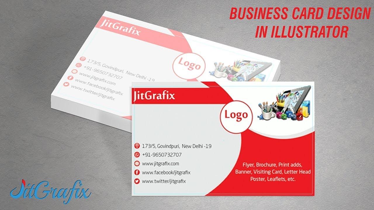 Illustrator tutorial professional business card design in illustrator tutorial professional business card design in illustrator cs6 reheart Gallery