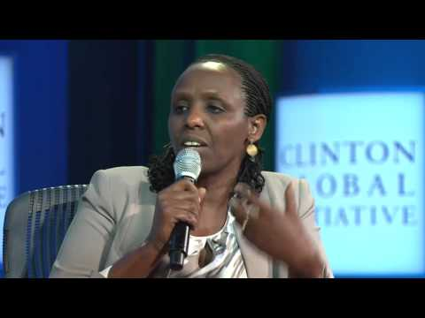 Confronting Climate Change: Peter Agnefjäll and Agnes Kalibata - CGI 2014 Annual Meeting