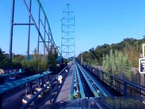Fastest Roller Coaster In The World >> KingDa-Ka Front Seat Six Flags Great Adventure New Jersey ...