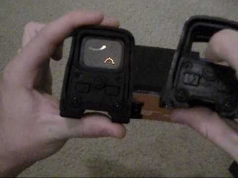 Real Eotech Vs Fully Marked Clone Youtube