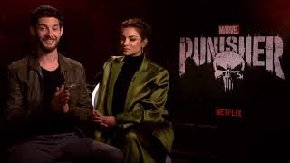 The Punisher: Interview with Ben Barnes and Amber Rose Revah