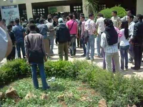 les étudiants de la faculté des sciences de Meknes  2011