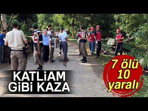 Katliam Gibi Kaza: 7 Ölü, 10 Yaralı