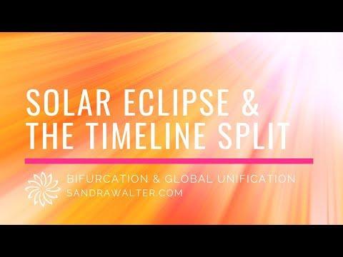 Timeline Split and the August Eclipse Gateway: Sandra Walter