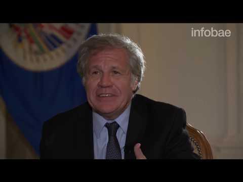 Entrevista Exclusiva con Luis Almagro Secretario General de la OEA