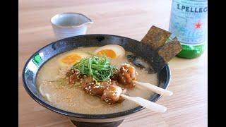 雞白湯串燒拉麵 鶏白湯ラーメン