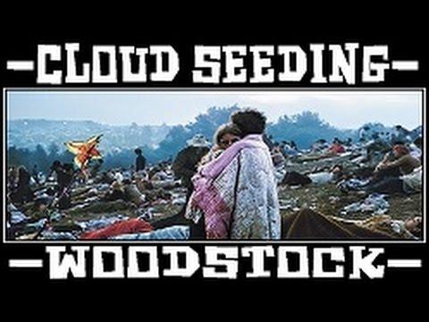 Woodstock Festival  1969  Streifen am Himmel — Making it rain on the Hippies Aerial Spraying?