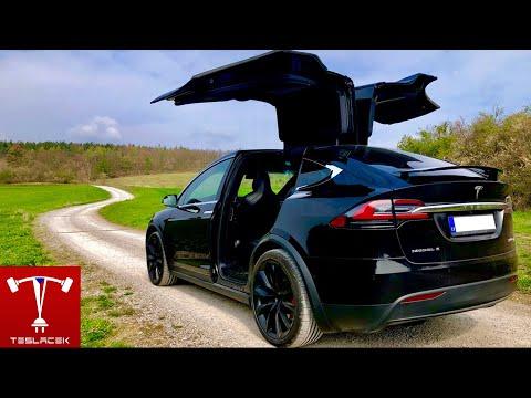 #61 MegaRecenze Tesla Model X P100D (2018 H1) 6 Sedadlová | Teslacek
