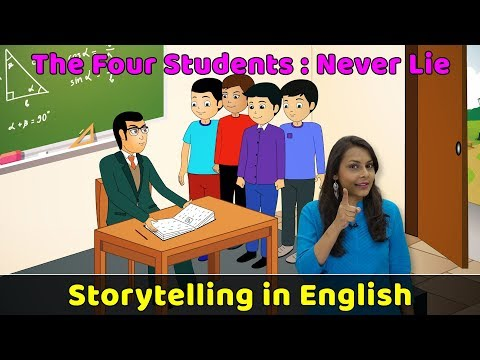 Never Tell A Lie Story in English   Moral Stories in English For Kids   Storytelling in English