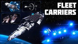 Elite Dangerous: Fleet Carriers Detailed, Plus Huge New Support Ships - Mining, Combat, Exploration