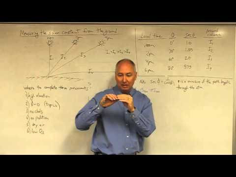 Lecture31 Measuring Solar Constant