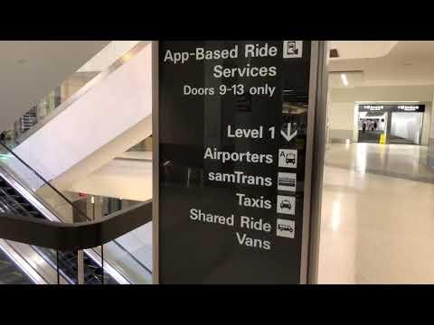 SFO Airport Terminal 3 Uber - Lyft Pick-Up Problem