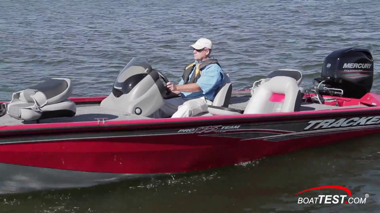 TRACKER Boats: 2017 Pro Team 175 TXW Complete Review by BoatTEST com