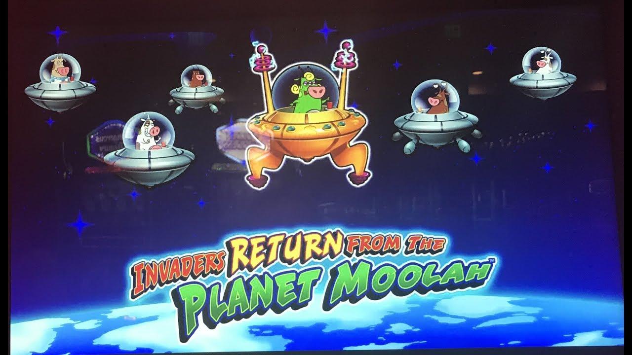 รีวิวสล็อต Invader From the Planet Moolah