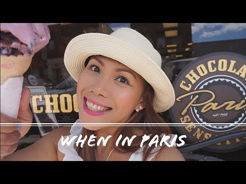 First time in Paris