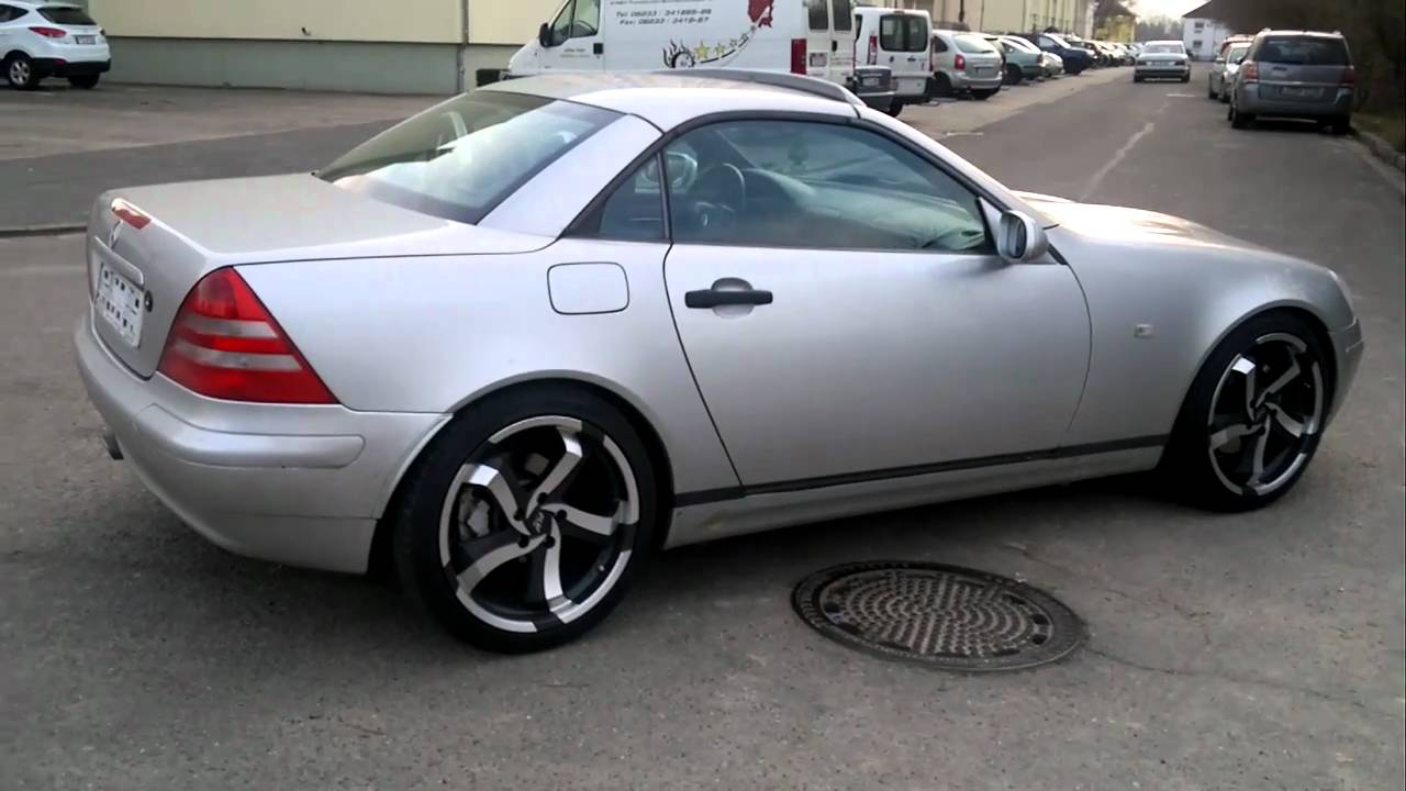 Mercedes Slk R170 With Michael Jackson Beat It Song And