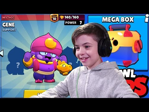 MEGA BOX & GENE POWER 7 - Brawl Stars