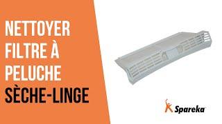 Comment nettoyer votre sèche-linge - Nettoyer le filtre à peluche ?