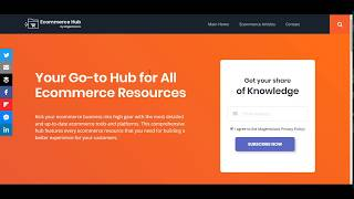 Ecommerce Hub - Top Ecommerce Tools and Resources